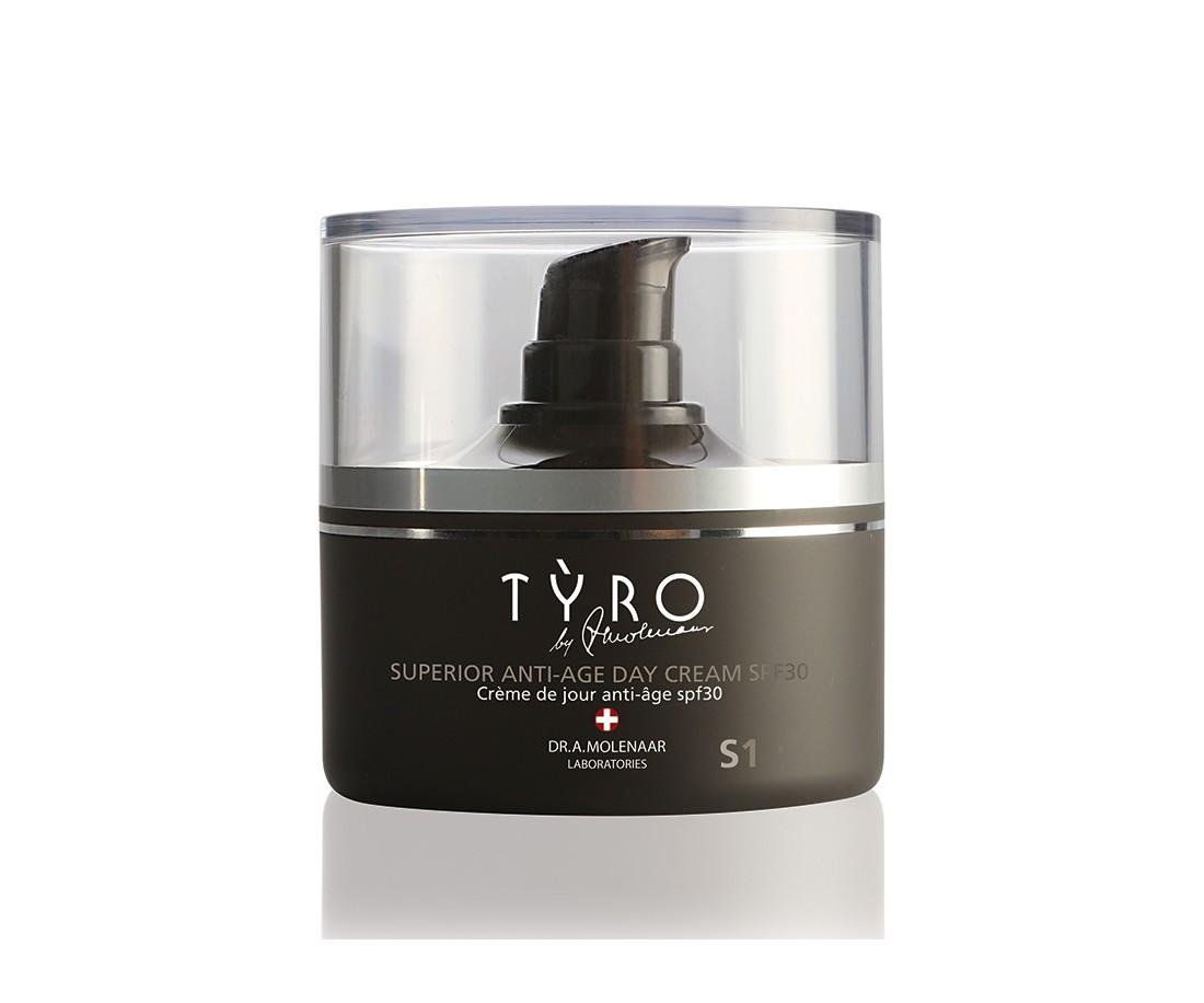 Tyro Superior Anti-Age Day Cream S1 met SPF30 50ml